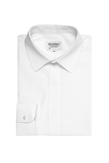 Junior collar attached day shirt