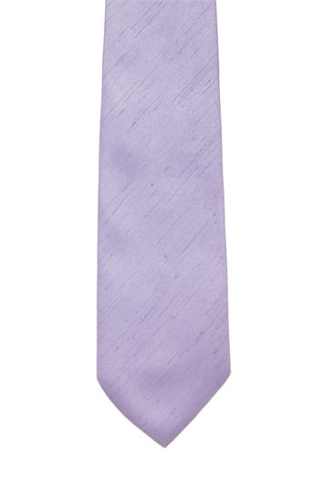 Lilac Polyester Tie
