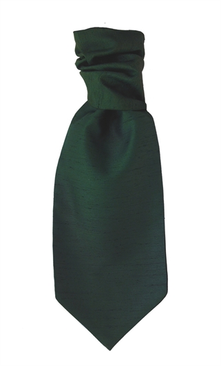 Valencia Green Polyester Self Tie Cravat