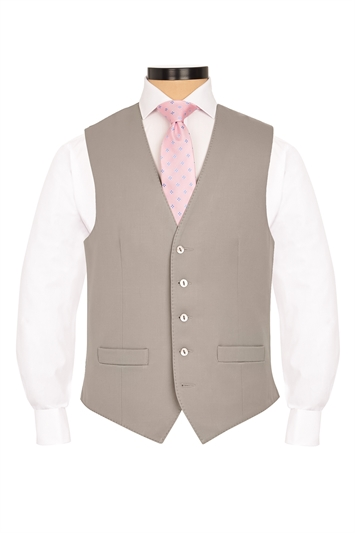 Aylesbury Dove Grey traditional morning waistcoat