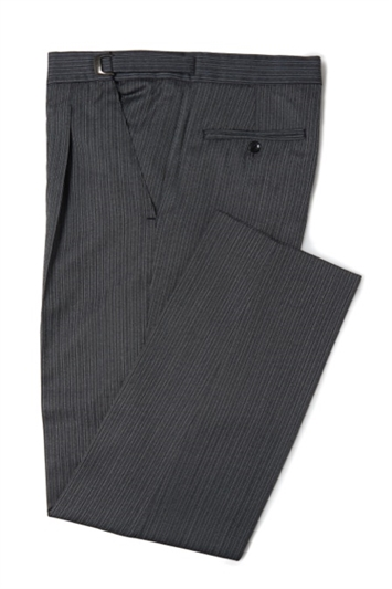 Royal Ascot grey and black stripe morning trousers