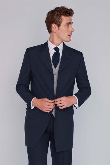 Lincoln Navy Wedding Hire Suit | Moss Hire