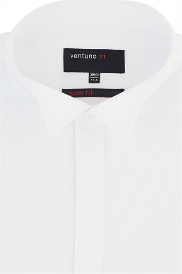 Ventuno 21 wing collar dress shirt