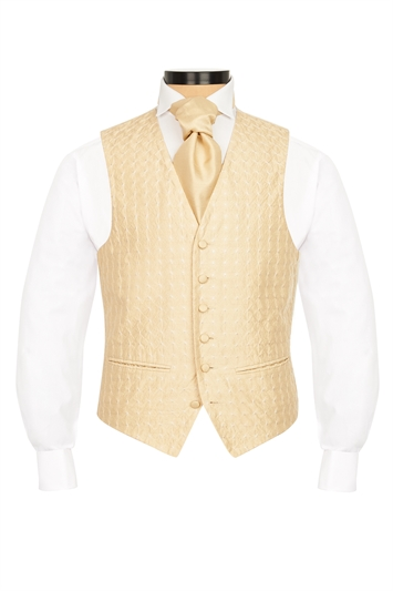 Gloucester Gold embroidered morning waistcoat