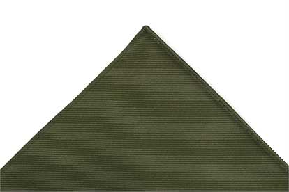 Moss Green Pocket Square