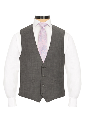 Ted Baker traditional grey morning waistcoat