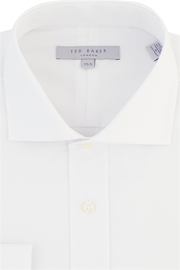 Ted Baker Tailored Fit Cutaway Collar Shirt with Double Cuffs