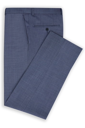 Moss 1851 light Blue sharkskin Trousers