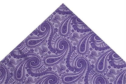 Moss 1851 Purple Paisley