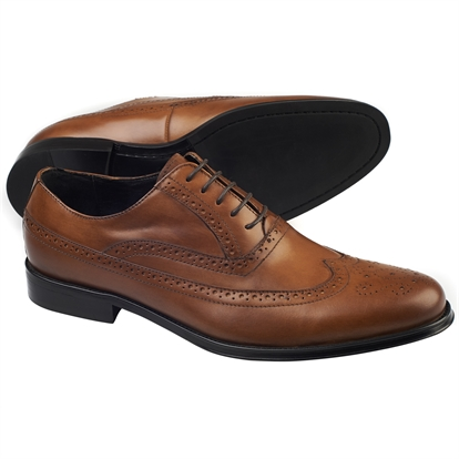 Tan day Brogue shoe