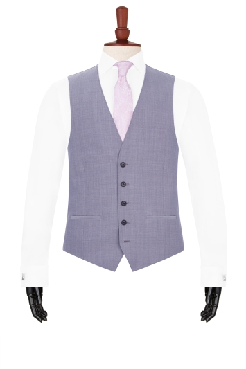 French Connection Silver Waistcoat