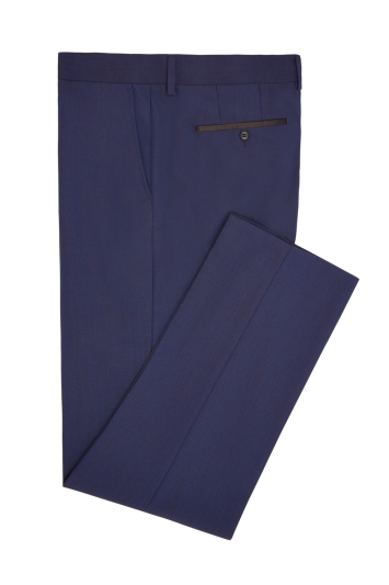 Moss London Blue Dinner Trouser