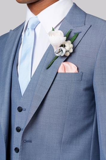 Moss London Ice Blue Suit