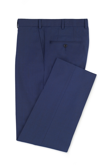 Ted Baker Blue Wool morning trouser