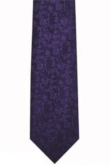 Terni Patterned Polyester Tie