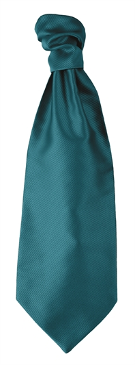 Teal Self Tie Cravat