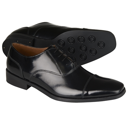 Classic black Oxford day shoe
