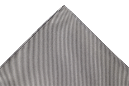 Slate Grey Pocket Square
