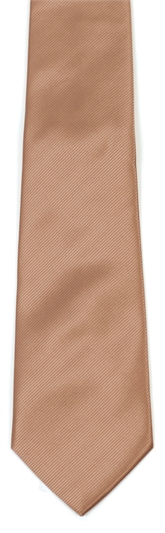 Cappuccino Polyester Twill Tie
