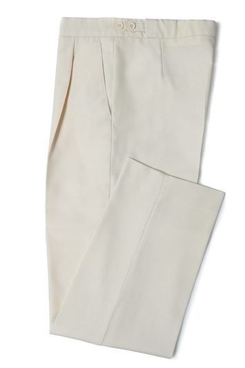 Cream morning trouser