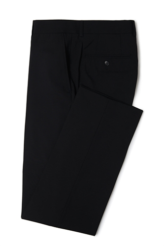Black Ventuno 21 slim fit dinner trousers