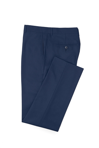 Blue Ventuno 21 skinny fit 1 button trousers