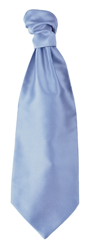 Sky Blue Self Tie Cravat