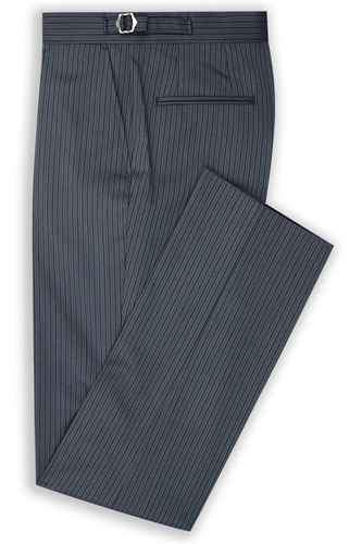 Canterbury blue striped morning trouser