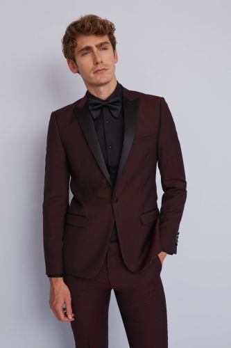 Moss London Claret Tuxedo