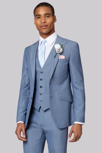Moss London Ice Blue Suit
