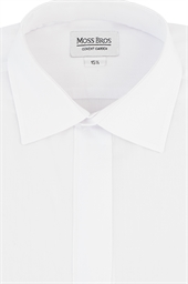 Collar attached day shirt
