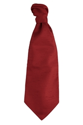 Valencia Burgundy Self Tie Cravat