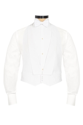 Marcella White evening waistcoat