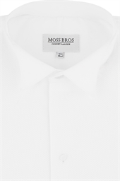 Marcella wing collar dress shirt