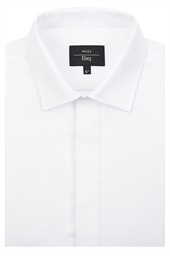 Moss Esq. Regular Fit Dress Shirt with Dual Cuffs
