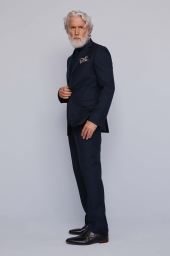 Moss 1851 Navy Blue Jacket