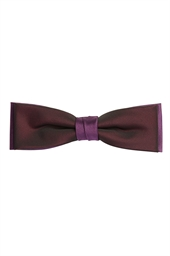 Purple Skinny Two Tone  Bow Tie
