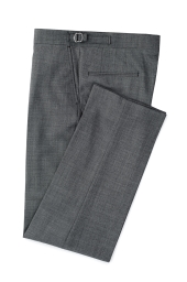 Lingfield grey flat fronted morning trousers