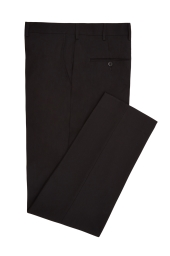Moss London Black Dinner Trousers