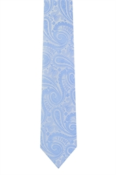 Moss 1851 Light Blue Paisley
