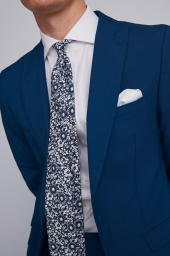 French Connection Bright Blue Lounge Suit