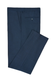 Moss London Peacock Blue Trouser