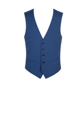 Moss London Bright Blue Waistcoat