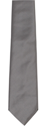 Slate Grey Polyester Twill Tie