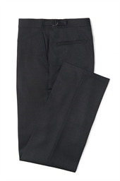 Newbury Charcoal Grey 100% Wool morning trouser