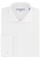 Ted Baker Junior Cutaway Collar Shirt with Single Cuffs