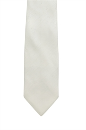 Ivory Polyester Tie