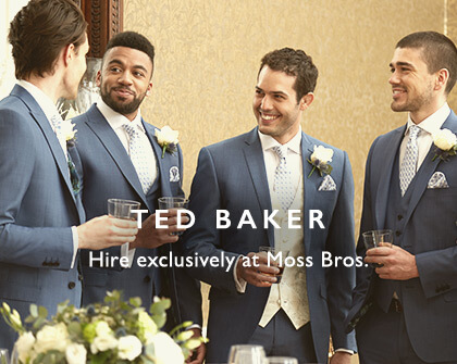 Ted Baker Suit Hire