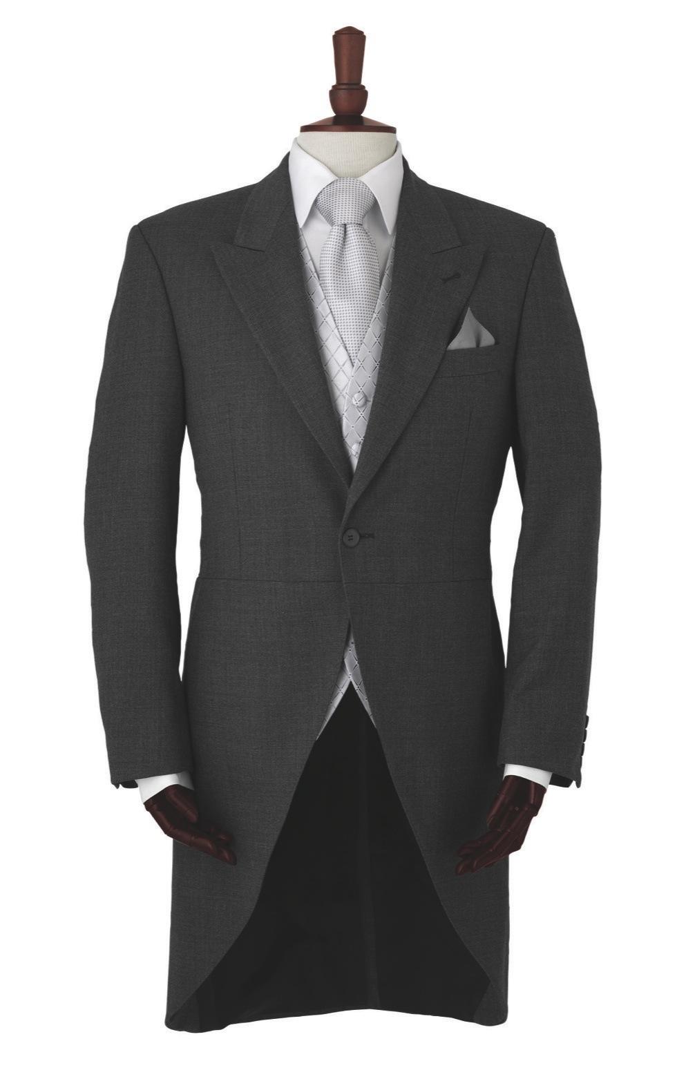 Ivory Brocade Morning waistcoat    CREAM