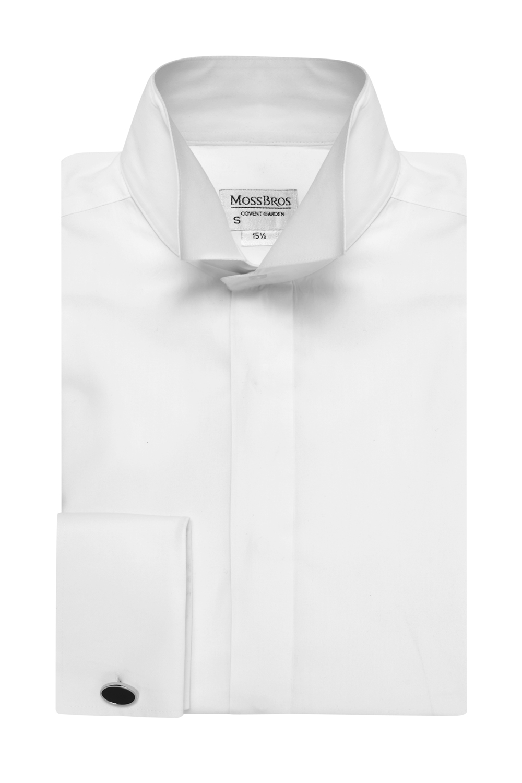 Junior High wing collar shirt